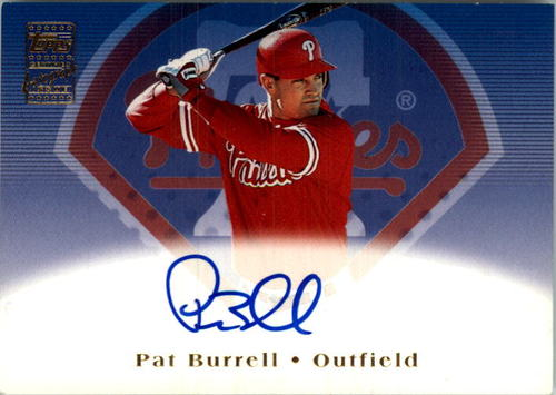 Photo of 2002 Topps Autographs #TA11 Pat Burrell C1