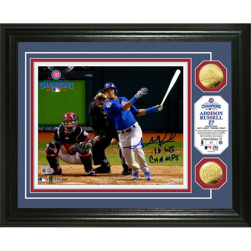 Serial #1! Addison Russell Autographed
