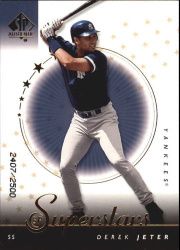 Photo of 2000 SP Authentic #94 Derek Jeter SUP