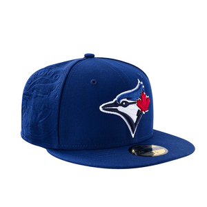 Toronto Blue Jays Panel Popped Fitted Cap Royal by New Era
