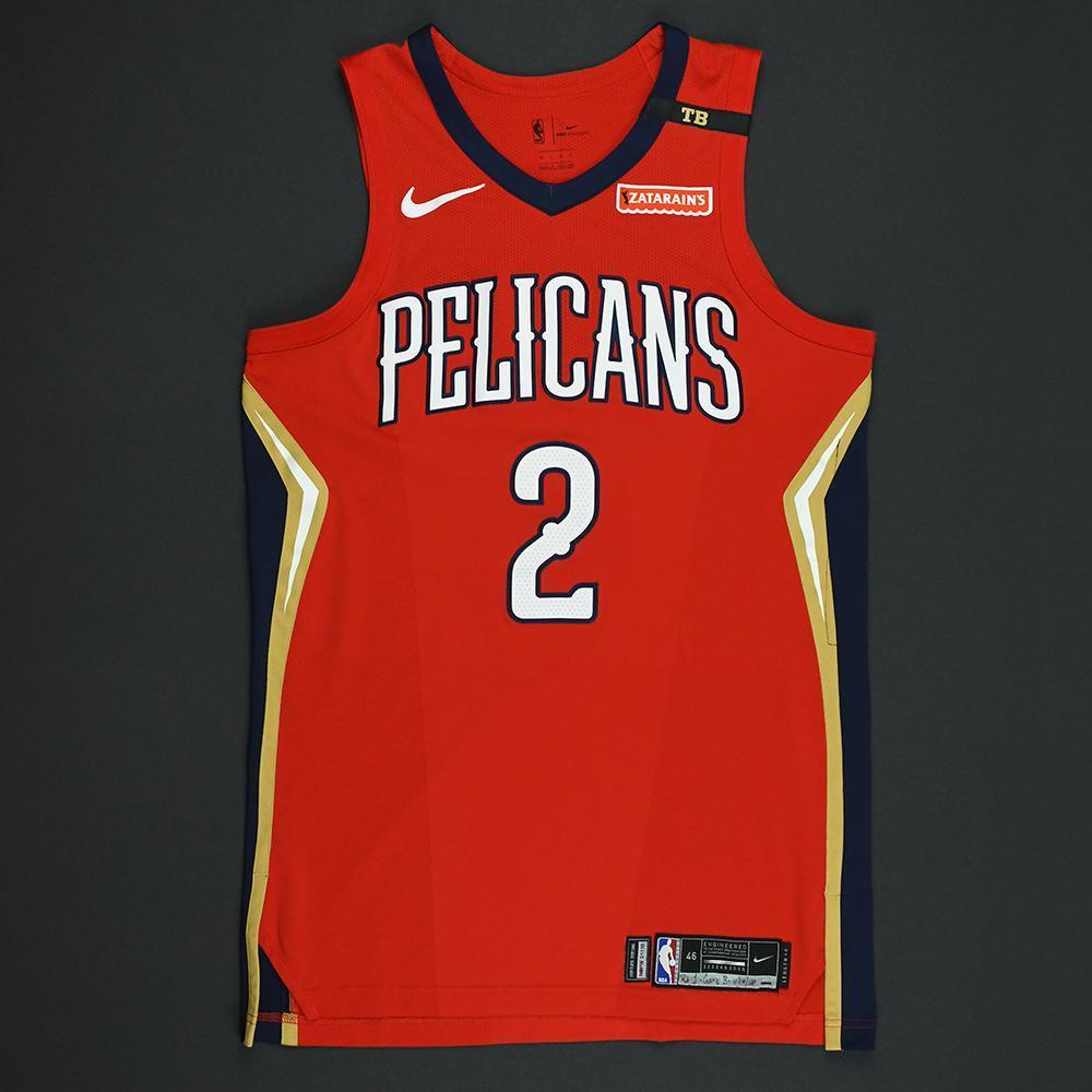 Ian Clark - New Orleans Pelicans - 2018 NBA Playoffs Game-Worn Statement Jersey