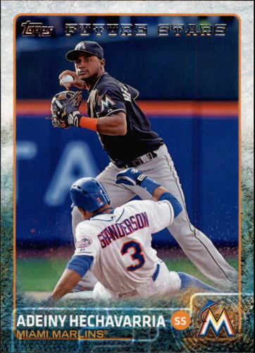 Photo of 2015 Topps #656 Adeiny Hechavarria FS