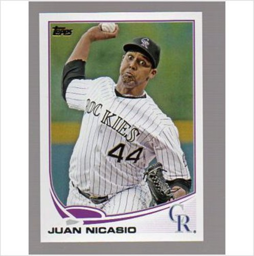 Photo of 2013 Topps #380 Juan Nicasio