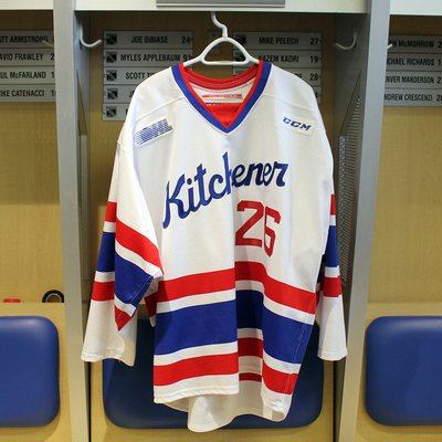 #26 Cole Carter 2016-17 Warm-up Jersey