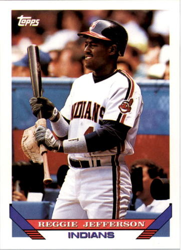 Photo of 1993 Topps #496 Reggie Jefferson