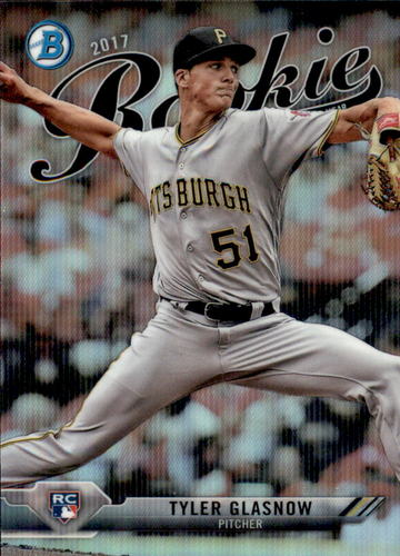 Photo of 2017 Bowman Chrome Rookie of the Year Favorites Refractors #ROYF7 Tyler Glasnow