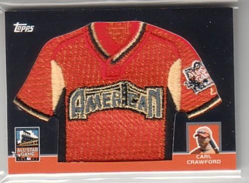 Photo of 2008 Topps Replica Mini Jerseys #CC Carl Crawford/539