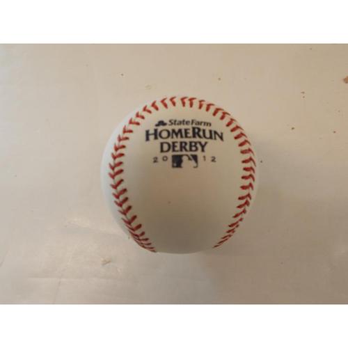 Photo of 2012 Home Run Derby Baseball