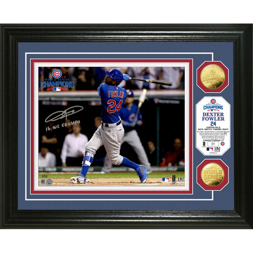 Serial #1! Dexter Fowler Autographed