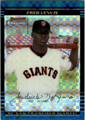Photo of 2002 Bowman Chrome Draft X-Fractors #2 Fred Lewis