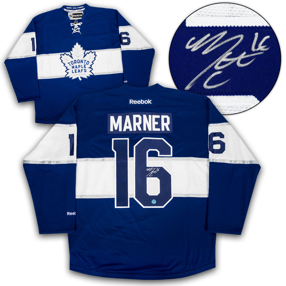 Mitch Marner Toronto Maple Leafs Autographed Centennial Classic Hockey Jersey