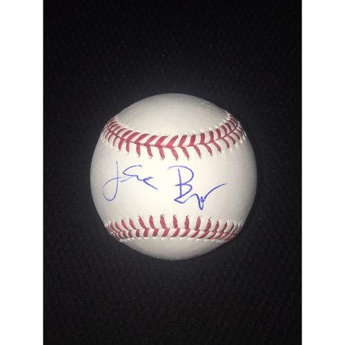 Photo of Jake Burger Autographed Baseball
