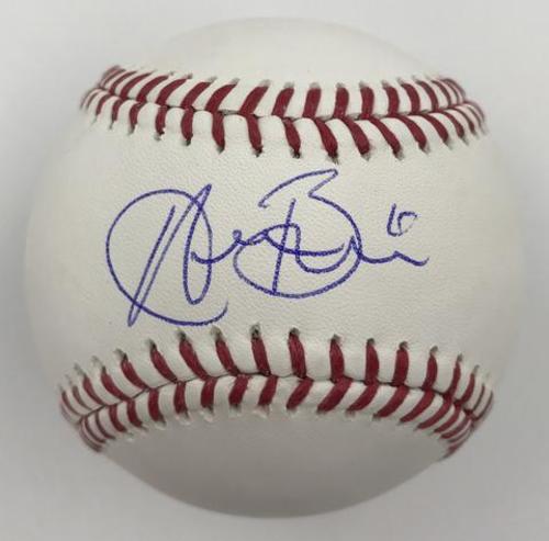Austin Barnes Autographed Baseball