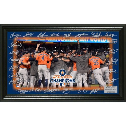 Serial #1! Houston Astros 2017 World Series Champions