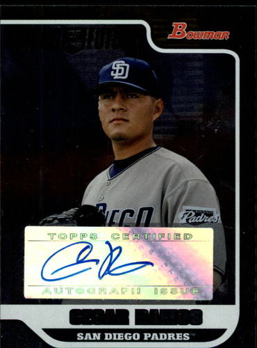 Photo of 2006 Bowman Draft Signs of the Future #CRA Cesar Ramos F