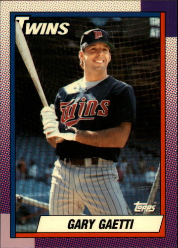 Photo of 1990 Topps Tiffany #630 Gary Gaetti
