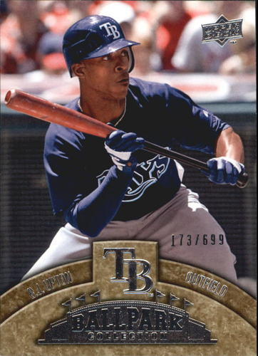 Photo of 2009 Upper Deck Ballpark Collection #8 B.J. Upton