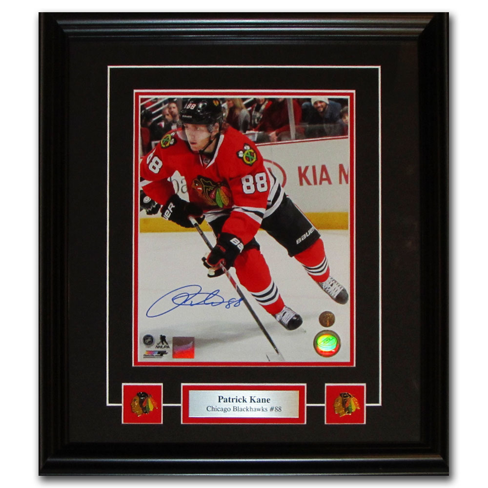 Patrick Kane Autographed Chicago Blackhawks Framed 8X10 Photo