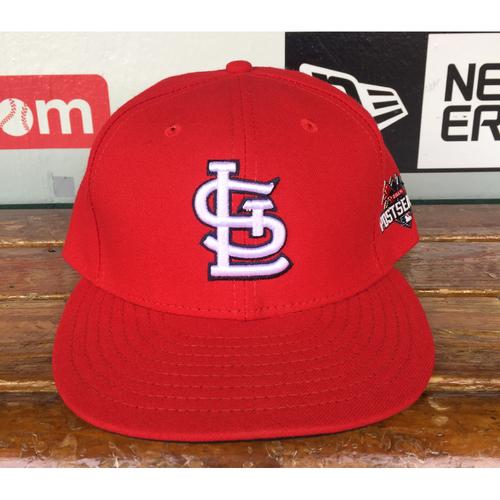 Photo of Cardinals Authentics: Blaise Ilsley Home Red 2015 Postseason Cap