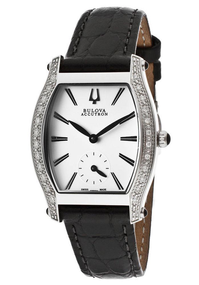 Bulova Accutron Women's Swiss Saleya Diamond Watch 63R004