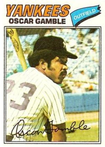 Photo of 1977 Topps #505 Oscar Gamble