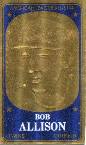 Photo of 1965 Topps Embossed #38 Bob Allison
