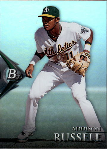 Photo of 2014 Bowman Platinum Prospects #BPP30 Addison Russell Pre-Rookie Card