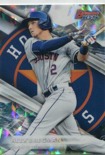 Photo of 2016 Bowman's Best Top Prospects Refractors #TP25 Alex Bregman -- Astros post-season