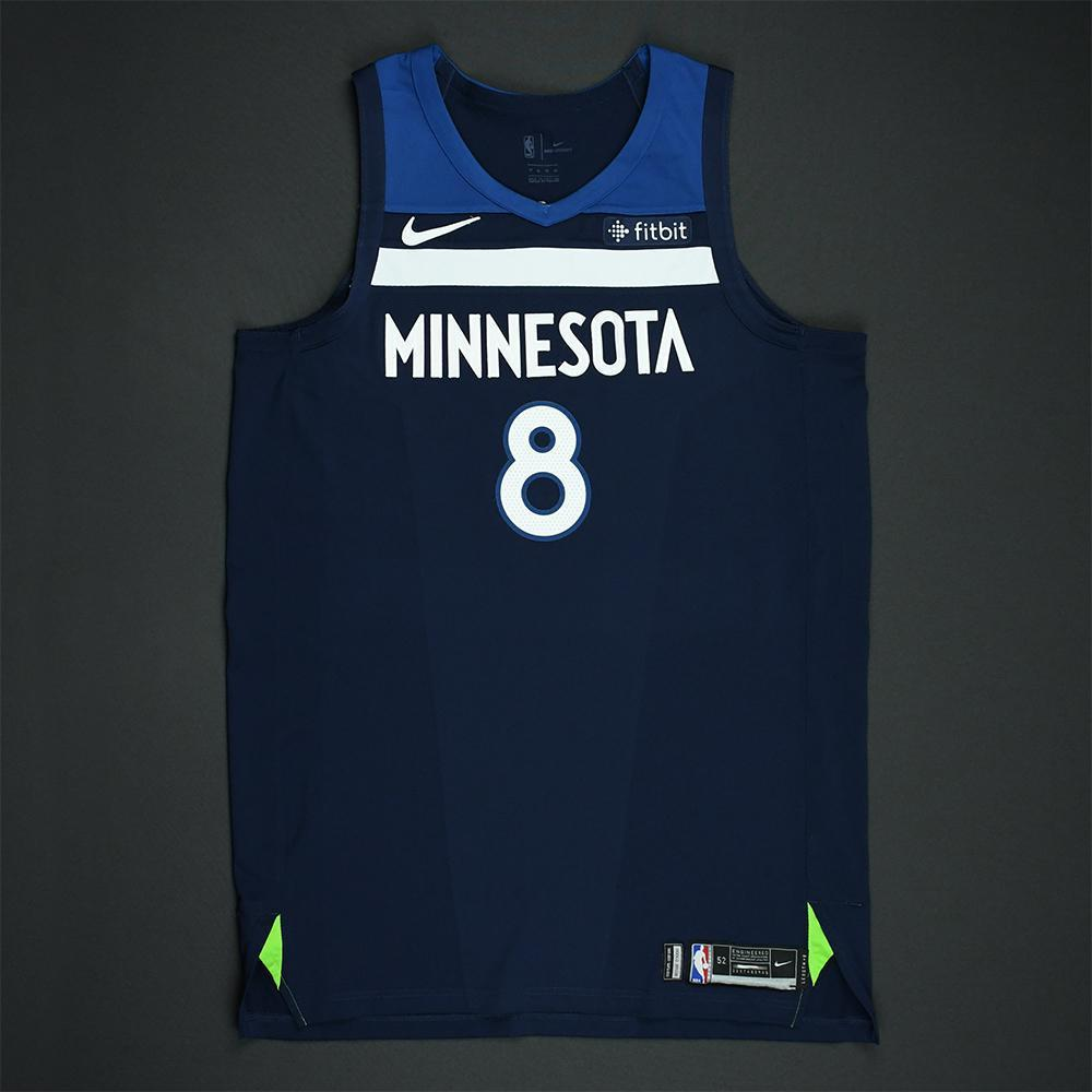 Nemanja Bjelica - Minnesota Timberwolves - 2018 NBA Playoffs Game-Worn Jersey