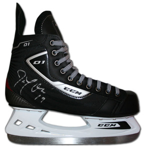 Joe Thornton Autographed CCM Hockey Skate (San Jose Sharks)
