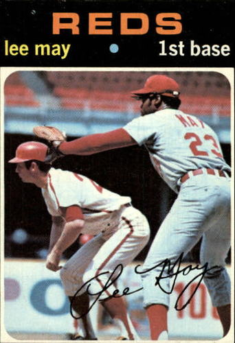 Photo of 1971 Topps #40 Lee May