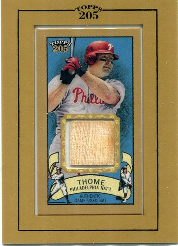 Photo of 2003 Topps 205 Relics  Jim Thome game used bat
