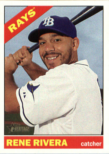Photo of 2015 Topps Heritage #644 Rene Rivera