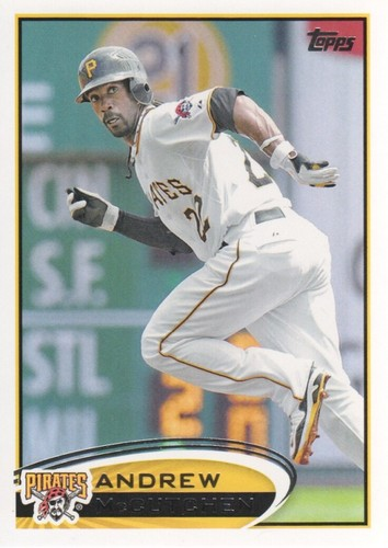 Photo of 2012 Topps #497A Andrew McCutchen