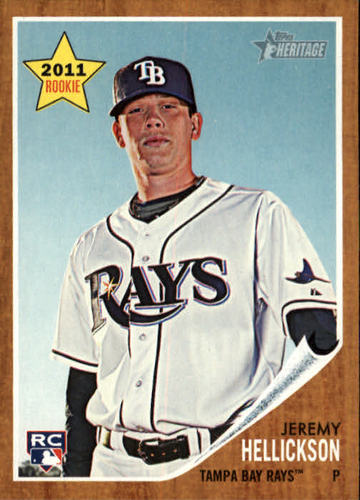Photo of 2011 Topps Heritage #219 Jeremy Hellickson RC