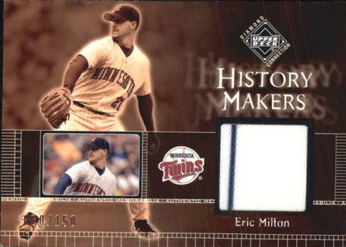 Photo of 2002 Upper Deck Diamond Connection #332 Eric Milton HM Jsy