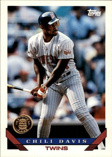 Photo of 1993 Topps Inaugural Rockies #455 Chili Davis