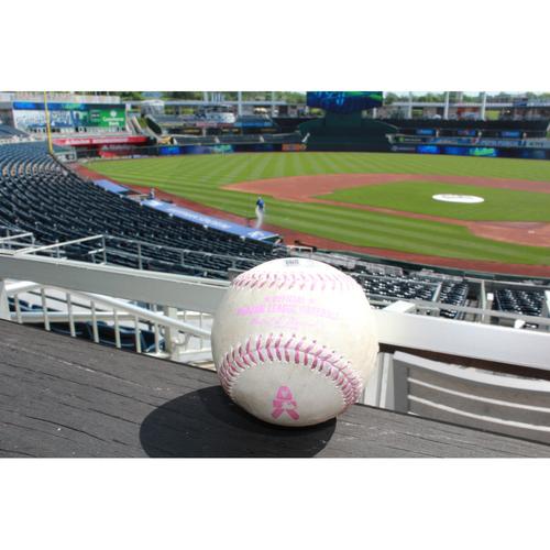 Photo of Game-Used Ball: Chris Davis RBI Single (May 14, 2017) (Top of 7th)