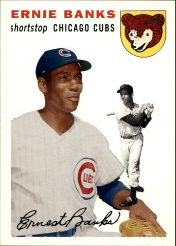 Photo of 2006 Topps Rookie of the Week #4 Ernie Banks 54