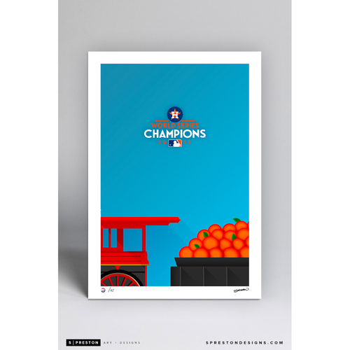 Photo of Limited Edition Minute Maid Park World Series Art Print by S. Preston (42 total)