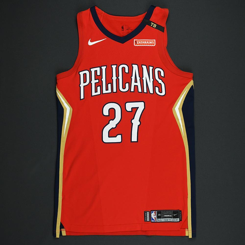 Jordan Crawford - New Orleans Pelicans - 2018 NBA Playoffs Game-Worn Statement Jersey