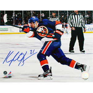 Kyle Okposo New York Islanders Signed 16x20 Photo