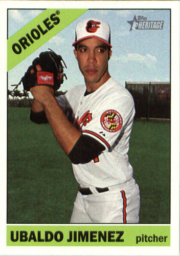 Photo of 2015 Topps Heritage #645 Ubaldo Jimenez
