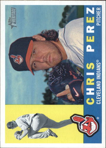 Photo of 2009 Topps Heritage #539 Chris Perez