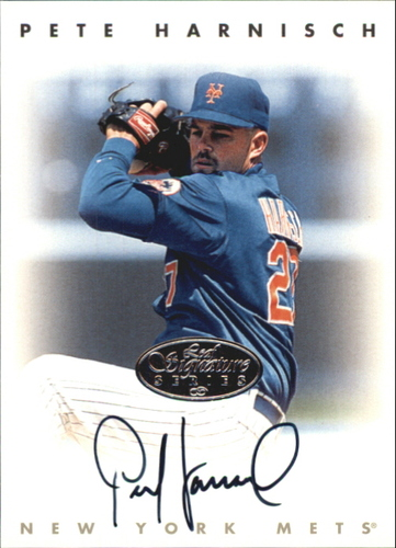 Photo of 1996 Leaf Signature Autographs Silver #96 Pete Harnisch