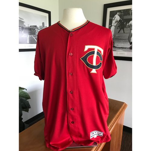 Minnesota Twins - 2017 Team-Issued Spring Training Jersey Grab Bag Red