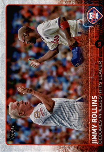Photo of 2015 Topps #659 Jimmy Rollins HL
