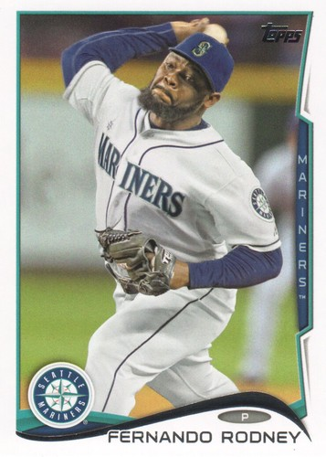 Photo of 2014 Topps #497 Fernando Rodney
