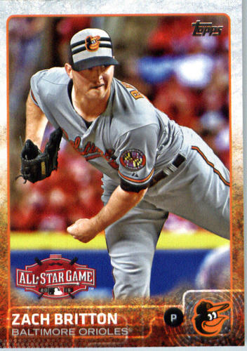 Photo of 2015 Topps Update #US290 Zach Britton