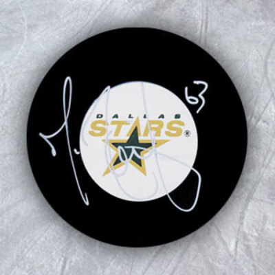 MIKE RIBEIRO Dallas Stars Autographed Hockey Puck